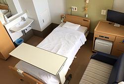 ときどき病院ほぼ在宅|緩和ケア病棟「ゆいけあ」病室