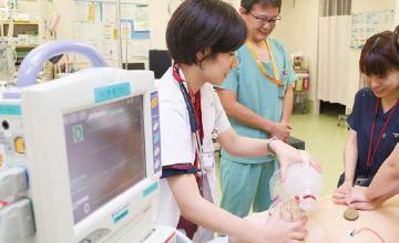 救急研修の様子
