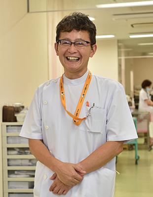 救急部長 佐々木秀章 先生